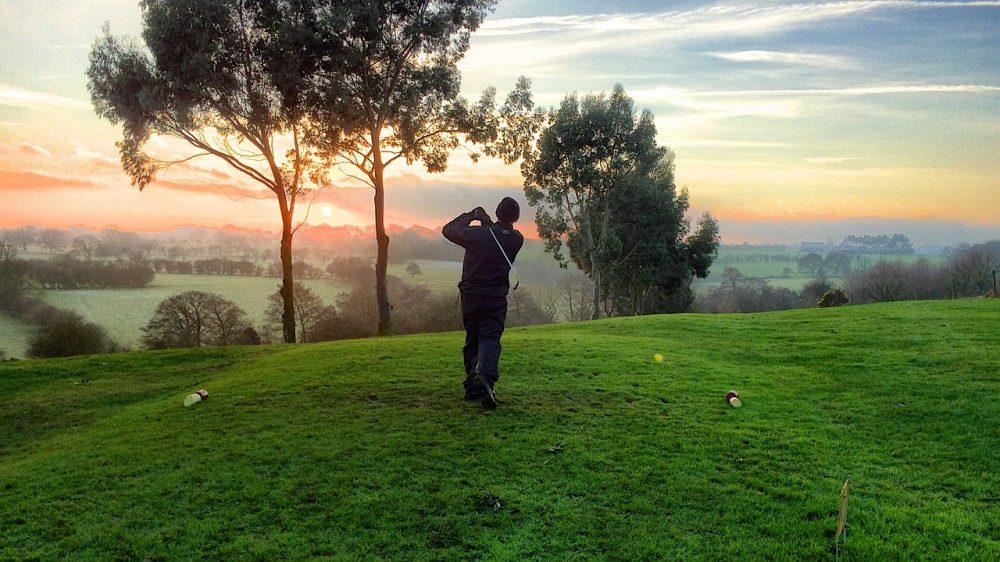Golfen is sportief