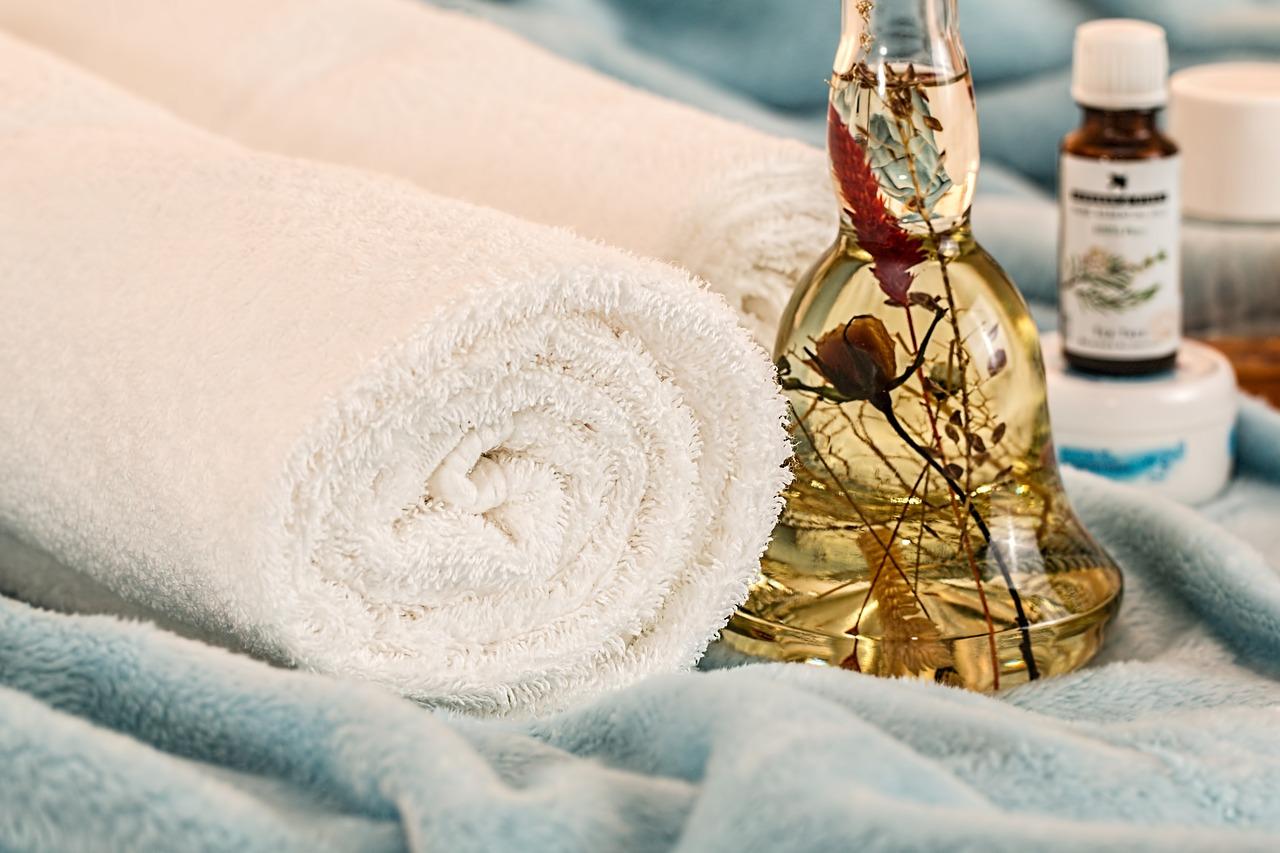 Producten voor een massage